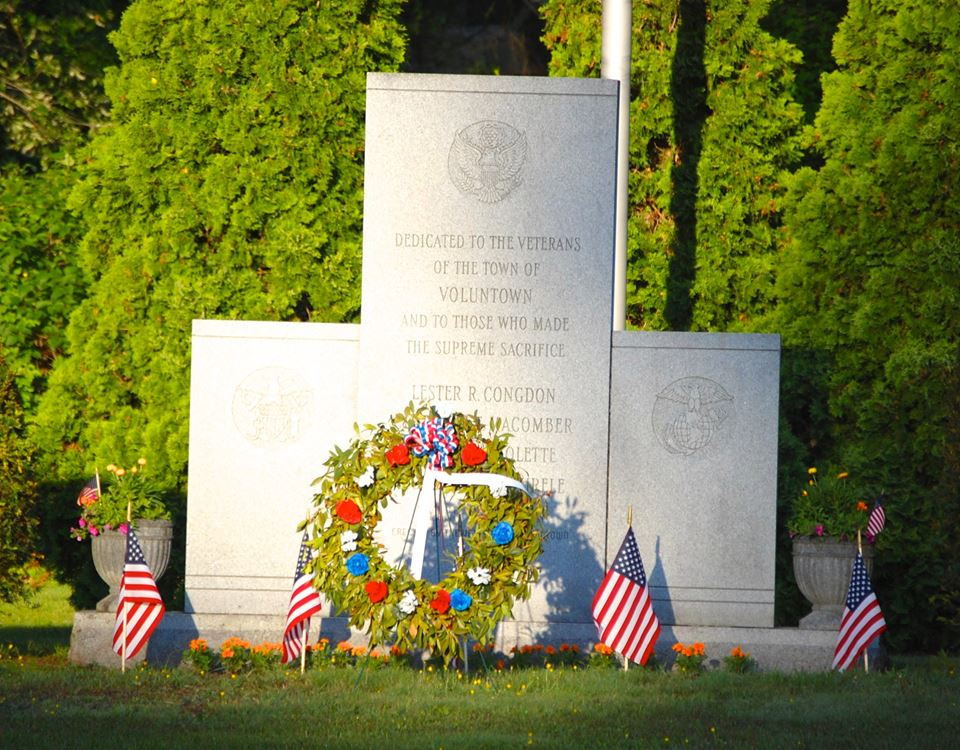 Veterans Memorial Karen Britt